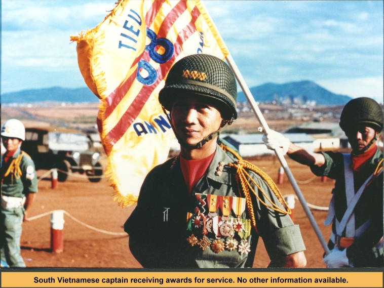 South_Vietnamese_Army_captain_awarded_medals